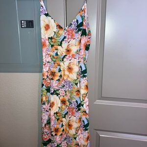 F21 Contemporary Floral Dress